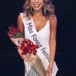 Picture of Mackenzie MacCommon in her crown.